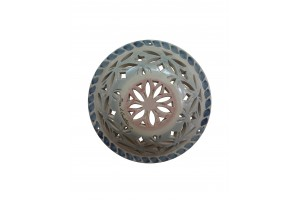 Round Perforated Wall Applique 22 - Applique Collection