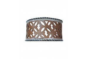 Strip Perforated Wall Applique 9 - Applique Collection