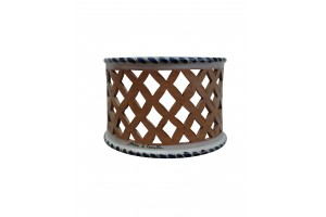 Strip Perforated Wall Applique 6  - Applique Collection