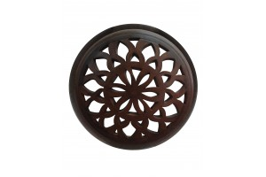 Round Perforated Wall Applique 14 - Applique Collection