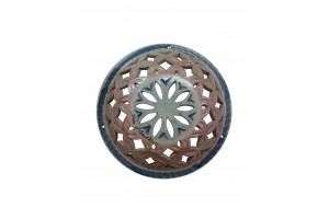Round Perforated Wall Applique 24 - Applique Collection