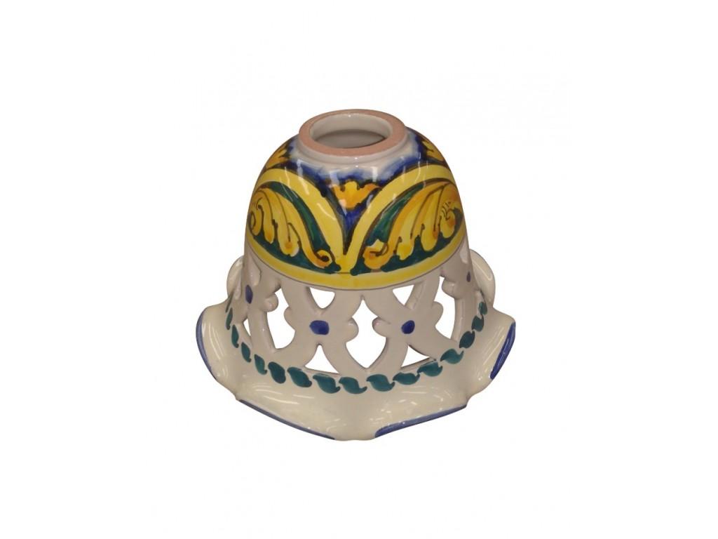 Applique campana traforata 26 geometrico barocco collezione applique