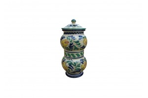 Pharmacy Vase 460 with Cover - Bells Decoration - Vessels Collection