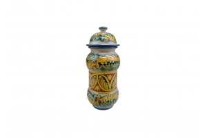 Pharmacy Vase 460 with Cover - FL 68 + FL Baroque Decoration - Vessels Collection
