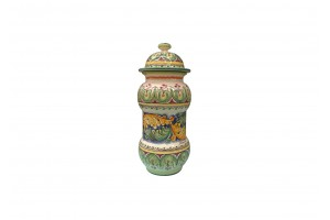Pharmacy Vase 460 with Cover - FL Baroque Decoration 2 - Vessels Collection