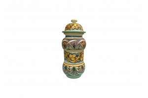 Pharmacy Vase 460 with Cover - FL 11 + Geometric Decoration - Vessels Collection