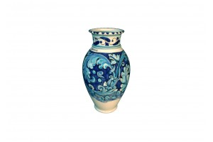 Vase with Edge - FL Light Blue Decoration - Vessels Collection