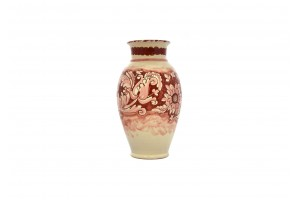 Vase with Edge - FL Bordeaux Decoration - Vessels Collection