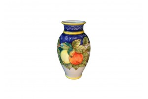 Vase with Edge - Lemons & Oranges Decoration - Vessels Collection