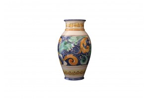 Vase with Edge -  Half Daisy Decoration - Vessels Collection