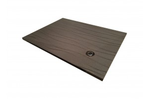 Lava Stone Shower Tray Matt Black - Shower Tray Collection