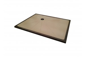 Lava Stone Shower Tray Dove Gray - Shower Tray Collection