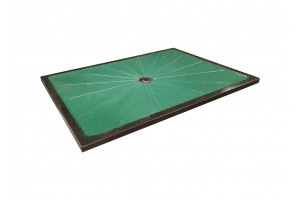 Lava Stone Shower Tray Green Copper - Shower Tray Collection