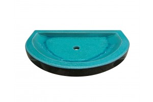 Lava Stone Shower Halfmoon - Shower Tray Collection