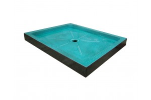 Lava Stone Shower Tray Turquoise Cristal - Shower Tray Collection