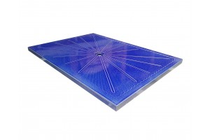 Lava Stone Shower Tray Blue Cristal - Shower Tray Collection