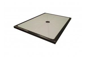 Lava Stone Shower Tray White - Shower Tray Collection